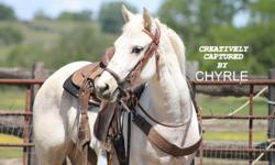 Nickers is a started 3 yr old. She is Peppy San Badger X Smokin Nik. Smoke is a Superior Reining Cow Horse, With over 25,00. in earnings. Nickers is a great Prospect for Reining Cow, Barrels. Roping