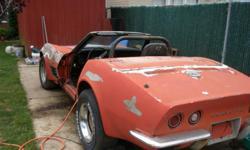 parting out 70 corvette conv. 347-922-7944