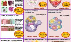 """ABI USA SALES CORP. Leading manufacturer, importer, exporter and wholesaler of a very successful line of party supplies """" Partyexpo"""". Is offering thier line of gift bags, gift wrap, party accessories, gift, and seasonal items to wholesalers. Please give"""