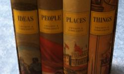 A good friend is having to relocate her husband into a VA Assisted Living facility. I am posting books and other items on line to help her in her move. This is an interesting, well preserved set of 4 hardbacks and includes for example, in the People