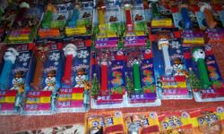 Packaged sets of theWizard of Oz, Snow White and the Seven Dwarfs, Lord of the Rings, Disney 80 Years, Hello Kitty, Handy Manny, Nasar Car x12, Marvel Comics x10,Starwars x8, Disney Princesses plus 139 individual packages of Pez plus some