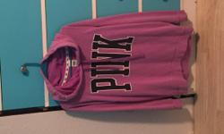 Cute purple hoodie from pink really comfortable in great condition asking $30