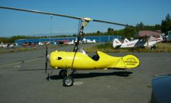PittBull Gyroplane icludes all parts to finish project .. It includes a new 60 HP engine with electric start. The engine alone cost $6,000.00 Incluides wheels, Floats and Skis . I am too old to finsh the building the Gyroplane.