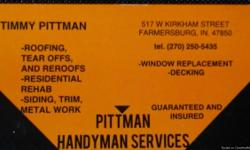 Specialized in roofing, siding, window, interior, and more. Veteran owned and operated