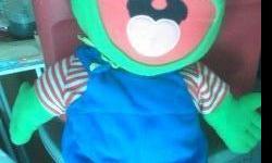 Large Character Pillows $8.00 each...Miss Piggy-Kermitt the Frog-Sponge Bob-Sandy-Patric Star Fish-and Gary the Snail