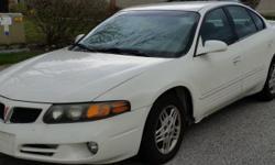 Pontiac Bonneville 2005, 116k miles, 4 new tires,run great, no problems.