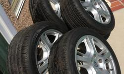 """Porsche wheels and tires 19"""" package. Tires are like new"""