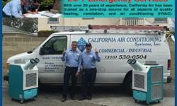 Need Temp Cooling? Call us today  Looking for Portable Cooling for your server room? Here at California Air Conditioning Systems we have been providing temp cooling for all types of server rooms including heavy equipment, we understand the need of