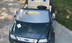 Ford Power Wheels Truck in good condition. It works just needs a 12V Power Wheels battery. We have the battery charger included.