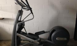 Features Exercise Programs: Cross Training (3), Cross Country, Fitness Test, Gluteals (2), Interval, Hill Climb, Manual, Weight Loss, and Custom Cross Ramp: 15 to 40 degrees (adjustable) Stride Lengths: 21.2 to 24.7 inches Tap Control: Large buttons
