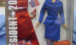 Presidential Barbie 2000 Barbie for President Collectors Doll. New in Box. Please Call Sue or Karl at 1---.
