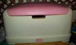 Holds a huge amount of Toys- fisher Price toy box