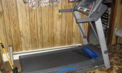 Pro- form treadmill for sale. Like new condition. Digital read out, Folds up for storage and inclines. Selling it because we just got new memberships to local gym so we don?t need.