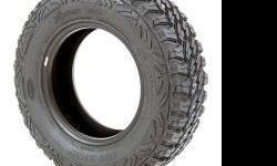 Tire Size: LT265/70R17 Black Sidewall Load Range: E Max Load: 3195 Tread Depth: 18/32 Overall Diameter: 31.9 40,000 Mile Tread Wear Warranty