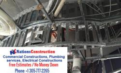 Nations Construction provides best Commercial Constructions service with Electrical Constructions service also. It is one of the best construction service provider.We provide affordable Service Charge. Electrical Constructions,commercial