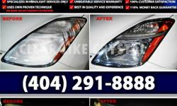 Steal back the spotlight for headlights with professional headlight restoration services from CLEAR LIKE CRYSTAL. CLEAR LIKE CRYSTAL is a mobile business specializing only in headlights services. They restore any headlights to brand new out of box