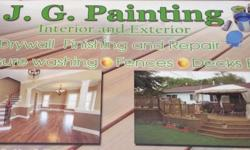 Do you need to remodel your house? If you do then go contact J.G.painting We expert in painting, repaints, pressure washing, interior and exterior work We have more time then 10 years of experience. We have insurance and all the