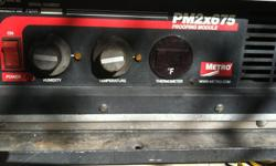 metro flavor view proofer model c175 in very good condition call armen 323-770-3242 any time thank you