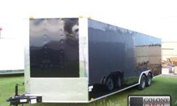 Stock #: CUSTOM ORDER Serial #:ORDER Description: New 8.5x24 black car haulers with an all tube frame. Financing available! So order your black 8.5x24 car hauler today!!! Give us a call today at -- and order your new black car
