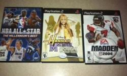 ASKING $15.00/OBO ($15 FOR ALL 3) CALL9 SEVEN 0 TWO 9 ZERO 1 SEVEN 4 THREEIF INTERESTED!