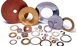 Custom manufacturer for metal washer pressing. Materials include; Stainless steel, brass, aluminum, nylon, and copper. Made in any size/shape you want. For prices or more information contact Jose at (323) 780-9012 or fax (323) 780-9013. Email: