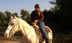Bomb proof wonderful trail horse. 14 yr. Old quarter apollossa gelding. Cherokee is so good anybody can ride him. He goes in water and he doesn't spook at nothing. He was for my boyfriend but now my boyfriend is sick and can't ride no more. Your kids or