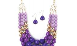 NECKLACE AND EARRINGS FREE SHIPPING 20 % off price