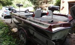 18.3' Ranger Bass Boat and trailer (1990). 150HP motor (1993), GPS, Fish Finder, Trolling Motorwith new batteries, new seats. Has flipping deck that is removeable. Asking $6,499. When calling, please leave a message.