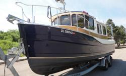 """""""Sine Wave"""" is a great cruising boat, loaded with all available options and shows extremely well. Offered by non-smokers and is very clean. No nicks or scratches in the Gelcoat. While the boat will travel at 18 mph up on plane, we love the economy"""