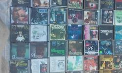 THIS IS A ULTIMATE RARE RAP HTF OG OOP STORAGE FIND ALL CDS IN GOOD PLAYING CONDITION COMPLETE WITH FRONT AND BACK INSERTS 83 CDS TOTAL ALL SALES FINAL NO LOW BALLERS SEE MY OTHER LOTS I HAVE LISTED AS WELL THANKSLOCATED IN OC AREA
