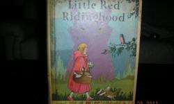 "Rare 1933 Little Red Ridinghood POP-UP Edition with ""POP-UP"" Illustrations in color by Harold B. Lentz. This book was only published twice 1933 and 1934. There is slight wear on cover but all pages including pop-up are in excellent condition. Through my"