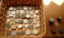 Selling My Extra Collection Of Coins From All Over The World ! These Are All Originals & In Good Condition $1 & Up Each !! We Have Lots Of Nice Great Kool Items Available !!! 760-218-6622 (sorry no texting) ! See All My Rare/Nice Items Here & Also At