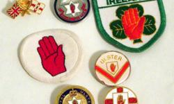 A 7 piece set of Northern Ireland Ulster Loyalist badges. Each item is in good condition. Price includes postage please contact for payment details.
