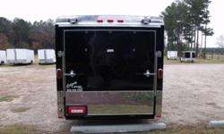 Stock #: custom order Serial #:order Description :::::::: AI 6X12 SA ENCLOSED CARGO TRAILER STANDARD FEATURES: ROUND FRONT W/ SOLID WALL CONSTRUCTION, REAR RAMP DOOR & SPRING