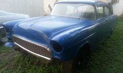 If you are looking for a good deal, well here it is! Just reduced for quick sale! My loss , your gain. I have this 1955 Chevy 150 4- door with a fresh 396 loaded with all the goodies. Mother Thumper cam, factory pop-ups pistons, double spring