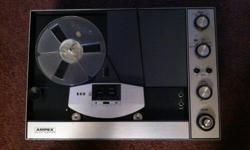 Ampex 2061 reel to reel tape recorder player.