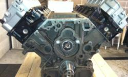 Long Block: $4600.00 Long Block Parts Includes: New pistons and pistons pins, New rings, New rod and Main bearings, New cam bearing, New timing set, New oil pump, New lifters, New full set gasket, and New freeze plugs. Long Block Labor includes: Bore
