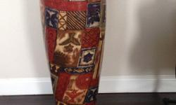 Remo Asonga Conga Drum 28? Tall with a 10? Head, this drum is a work of art! $225.00 Never used. Was purchased for as a gift for someone to learn to play 20 years ago and they never learned so it just became home décor. The only time it