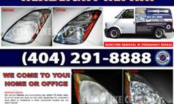 Fully operative and clean headlights are essential for night time driving. Over time, various problems such as dirty, cloudy or moist headlights can cause serious safety hazards for you and anyone else who uses your car. But cleaning the outside is