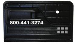Replacement Door Panel With Arm Rest Fits 78-79 Ford Bronco and also Fits 73-79 Ford P/U Truck Call Danny @ 954-961-7774 for assistance or to place an Order Mon-Fri / 9:30AM - 5:30PM 5450 S State Road 7 Davie, Florida