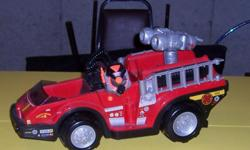Rescue Hero Fire Truck Heavy Duty Excellent Condition Contact Chris at --