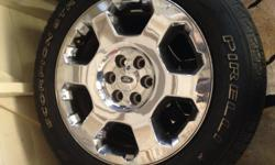 20 inch tires and rims great condition.