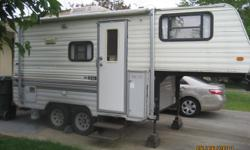 I'm selling my 1992 Roadranger 5th Wheel for $7,500 or best offer because I'd like to sell it asap. There's absolutely nothing wrong with it & I'm only getting rid of it because I don't use it anymore. If you'd like more pictures or have any questions,