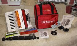 Hi, You Are Looking atMy Roland FR-1 Accordion,APeavey KB1 Keyboard Amp andAnd a Roland Gig Bag. It Is Very Hard to Find aComplete Packageat this great price in ThisGently Used
