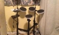 Practically brand new, I've hardly played on it. Comes w/ throne.