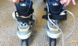 Boys Roller Blades Adjustable size 1 to 4 worn maybe 3 times. Like New Condition Originally paid $40 @ Target Contact 806-379-6222