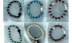 *This bracelet fits wrists measuring a maximum of 7 1/2 inches.which fits an average wrist. ***PLEASE check the size of your wrist before ordering. ***NOT AVAILABLE in other sizes. Go to my web store to see if I have any specials this week.