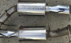 Roush exhaust fits 2011-2014 mustang v6. pick up only.