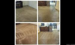 Give us a call today for a free estimate starting as low as 25.00 per room(3 room minimum), we specialize in the following Carpet cleaning Upholstery cleaning Tile and grout cleaning Water extraction We do most of our work with industrial truckmount units