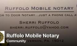 The Notary that comes to you, We deliver our services door to door. Specializing in Notarization of Wills, Powers of Attorney, Leases, Acknowledgements, Affidavits, Mineral rights and many more. Member of Pennsylvania Association of